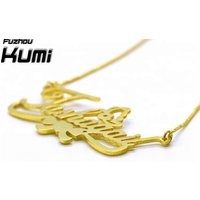 Jewelry Fashion Hot Sale 18K Gold Plated Personalised Name Necklace