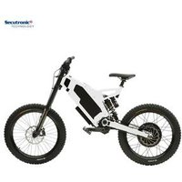 Adult Dual Suspension France Complete Power Cycle Frame Electric Mountain Bike 3000 Watt 70Km/H