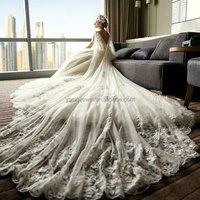 Wedding dress 2019 new design great Sexy ladies gown  lace mermaid wedding dress