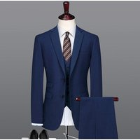 Italian blue men designer wool new pant coat design photo slim fit men wedding suits 3 piece suit