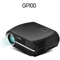 TOP NO.1 LED Home theater video Projector VIVIBRIGHT GP100 with 1280x800pixels hologram projector better than Portable Projector