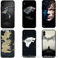 Game of Thrones phone case  black TPU pc edge soft back hard case For samsung J7 J5prime J710 J730 A5