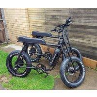 electric scooter dual chopper bike 8 fun hub motor retro electric bicycle