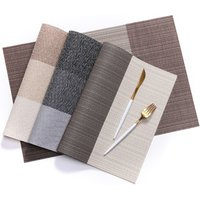 'Pvc Vinyl Placemat And Dining Table Mat For Restaurant