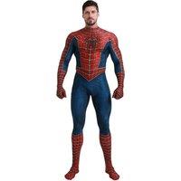 Superior Spider-Man Costume Spandex Halloween Cosplay Spiderman Zentai Suit New