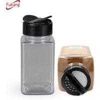 'Wholesale Kitchen Plastic Spice Jar And Salt Bottle Pepper Chili Shaker Garlic Grinder Bottle With Customized Lid