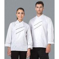 restaurant use kitchen chef jacket short sleeve black cotton chef jacket