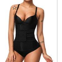 Women Tummy Zipper Latex Cincher Fitness Corset Breathable Waist Trainer Private Label