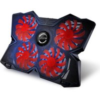 Coolcold 4 big fans laptop cooling fan, Amazons best seller laptop cooler stand