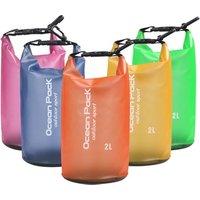 2L 5L 10L 15L 20L Outdoor sports transparent Ocean Pack Waterproof Dry Bag