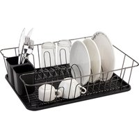 Good Price Kitchen accessories storage Rack dish holder with PP drainer