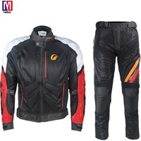 Factory supply high quality customized motorbike motocross mens suit summer polyester breathable motorcycle Racing wear