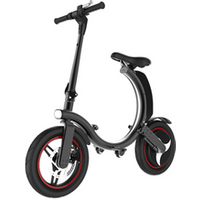 Drop ship lithium ion battery 14inch foldable electric bicycle electric bike stealth bomber electric bike