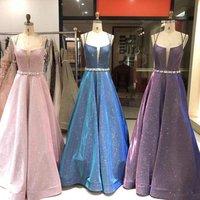 2019 Prom Dress Satin Elegant luxury  Evening Party Gowns  Long Women Formal Dress