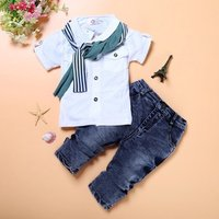 Cloth Kid Imported Baby Wholesale Childrens Boutique Boy Suit Garment Summer Outfit Spring Child Clothing Set