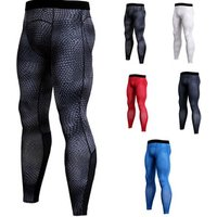 Sport Leggings Sportswear GYM Fitness Compression Exercise Quick-Drying Trousers Mens Sport Jogging Pants