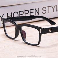 Fashion Computer Goggles Women Men Reading Glasses Frame Clear Lens Glasses Frames Nerd Spectacles Eyeglass China Factory grau
