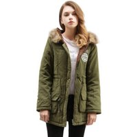 Winter New Fur Collar Hooded Thick Jacket Multi Color Outerwear Women Winter Coat