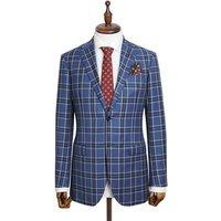 Fashion factory wholesale sale custom color standard casual grey coat pant men MTM suit