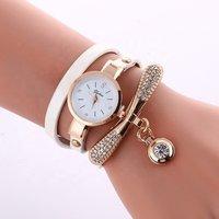 Factory Sell Ladies Wrap Watch Rhinestone Dot Pendant Luxury Fashion Classic Women dress Wristwatch WW028