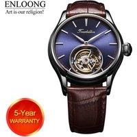 ENLOONG Real Tourbillon Luxury Mens Watch with Tourbillon Movement Sapphire Mechanical rollex man wrist watch oem watch luxury
