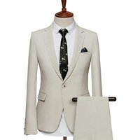 bespoke men suits for business 100%Wool fused canvas suit