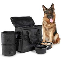 'Dog Travel Bag Airline Approved Travel Set Stores Your Dog Accessories Food Storage Containers Collapsible Dog Bowls