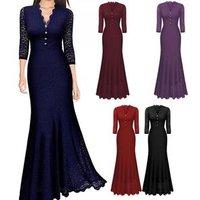 High waist floor length long evening dress mermaid tail cocktail dresses party dresses longsleeve vestidos