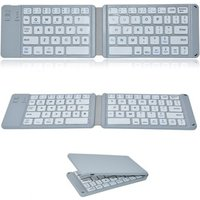 'Ultra Slim Foldable Bluetooth Keyboard For Ipad Android Tablet Pc Mobile Phone Portable Folding Keyboard