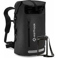 500D PVC  25L 30L 35L Laptop  Outdoor reflective strip Black Dry bag  Rucksack Waterproof sport backpack