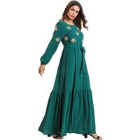Hot Selling Dubai Farasha Kaftan For Muslim Wear Islamic women clothing fashion kaftan dress
