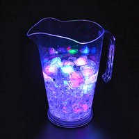 Hotel bar wholesale clear acrylic water plastic led lighted up plastic jug pitcher