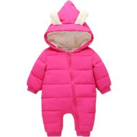 Childrens Cotton Infant Kids Newborn Baby Girl Boy Snowsuit Rompers Jumpsuit Clothing Clothes for Winter