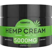 Hemp Pain Relief CBD Cream - 5000MG - Relieves Muscle, Joint Pain