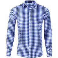 Stock Wholesale Mens Classic Dress Shirt Casual Shirt for Men  Long Sleeve Plaid Cotton Shirts