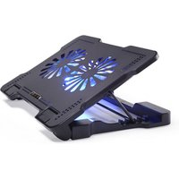 wholesale notebook cooler 5v aluminum laptop notebook cooling pad stand 2 fan
