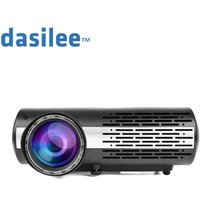 Dasilee real cr portable video projecteur LCD for 5.1 home theater full hd  LCD projector