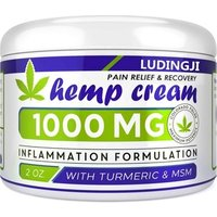 Amazon hot selling Hemp CBD cream for pain relief and Nourishing face and skin