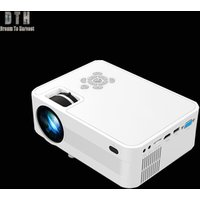 Mini Wireless Portable 1080p 4k HD 3D LED Android Wifi DLP Projector, 2000 Lumens Real Home Theater Business Projector