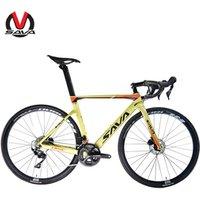 SAVA 22 speeds DISC BRAKE Road Bike 700C T700 carbon road bike frame disc brake