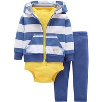 Wholesale Zipper Winter Kids Clothing Baby Boys Clothes Set With Baby Coat Pant.