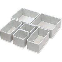 Organizer Basket Bins for Underwear Bras,Closet Dresser Drawer Divider,Foldable Cloth Storage Box