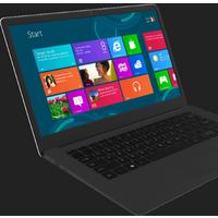 Win7/8/10/LIUNX Cheap Laptop Computer Core i7 13.3inch Intel Atom Laptop Notebook N1400A