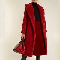 Wholesale  Portable  Teddy Jackets Fur Coat Faux Fur jacket long wool coat Women