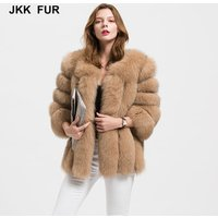 Wholesale 10 Colors Fur Outwear Women Real Fox Fur Jacket or Lady Winter Fashion Fur Coat S1589