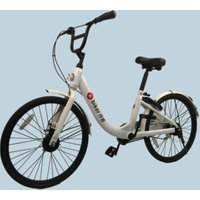 40 dollars share bike steel frame Cheap share bike 45% discount Two band brakes rotating bell sharing bicycle