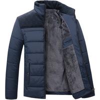 Mens Winter Thicken Jacket windbreaker Jacket men thermal coat