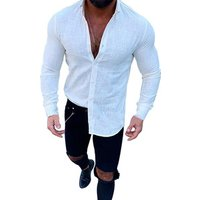 Wholesale latest shirt designs for man slim fit shirt unique dress shirt for men
