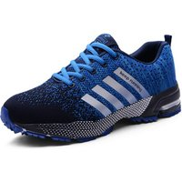 '2019 Marathon Running Shoes Men Couple Casual Shoes Men Flats Outdoor Sneakers Mesh Breathable Walking Footwear Sport Trainers