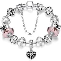 'Jewellery 2019 Women Charm Bracelet With High Quality 1:1 Original Fit For Pandora Cham Bracelets